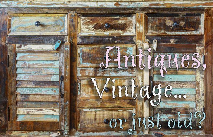 Antique armoire flat